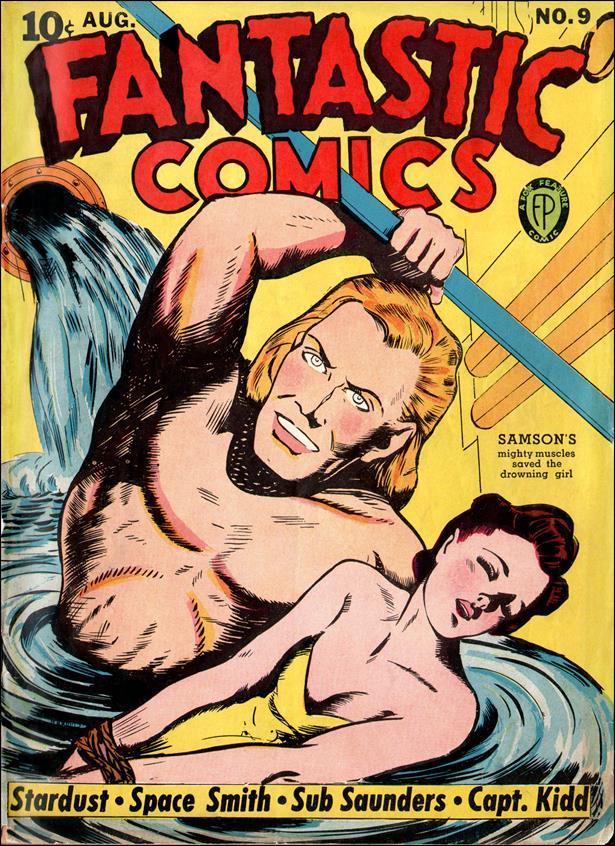 Fantastic Comics (1939) 9-A by Fox