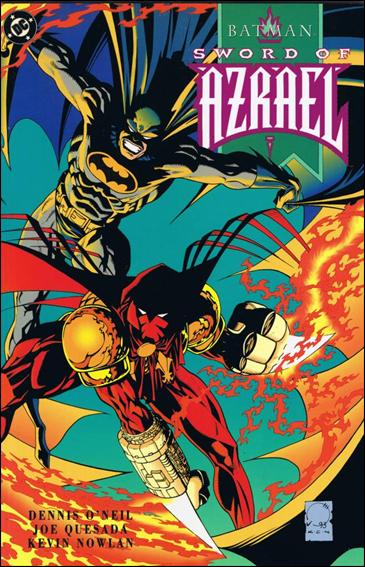 Batman: Sword of Azrael 1-B by DC