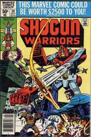 Shogun Warriors 20-A