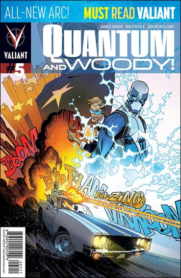 Quantum & Woody (2013) 5-A by Valiant Entertainment