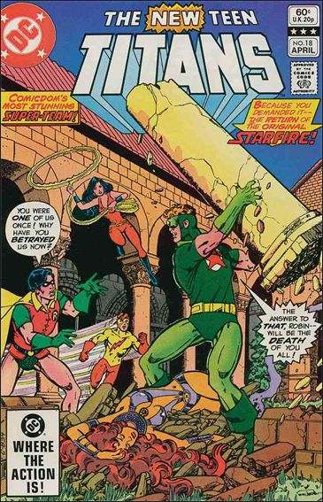 New Teen Titans (1980) 18-A by DC