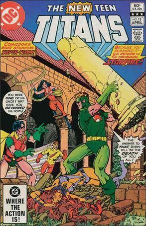New Teen Titans (1980) 18-A