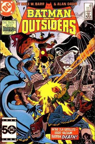 Batman and the Outsiders (1983) 22-A by DC