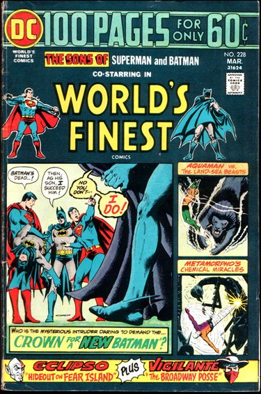 World's Finest Comics 228-A by DC