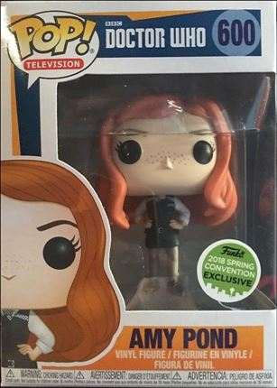 POP! Television Amy Pond 2018 Spring Convention Exclusive