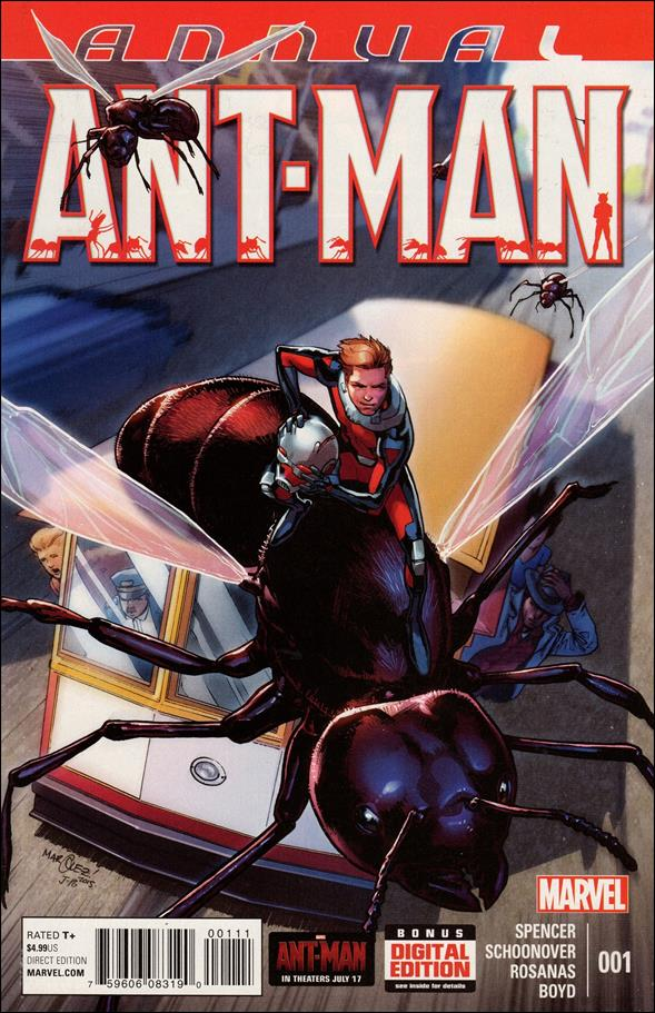 Ant-Man Annual 1-A by Marvel