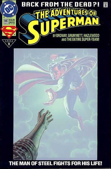 Adventures of Superman (1987) 500-B by DC