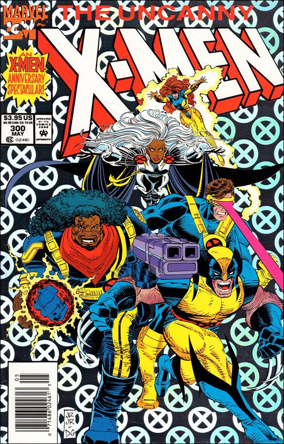 Uncanny X-Men (1981) 300-A by Marvel
