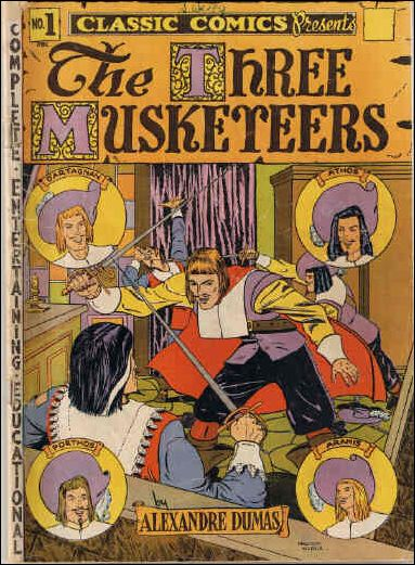 Classic Comics/Classics Illustrated 1-B by Gilberton