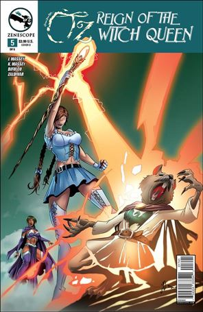 Grimm Fairy Tales Presents Oz: Reign of the Witch Queen 5-D
