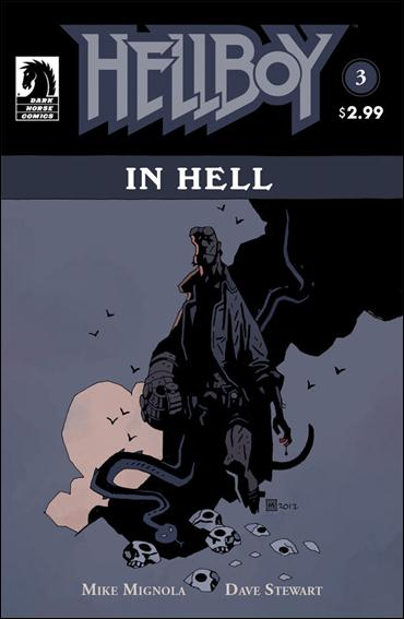 Hellboy in Hell 3-A by Dark Horse