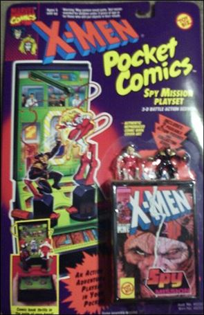 X-Men Pocket Comics Playsets Spy Mission Playset