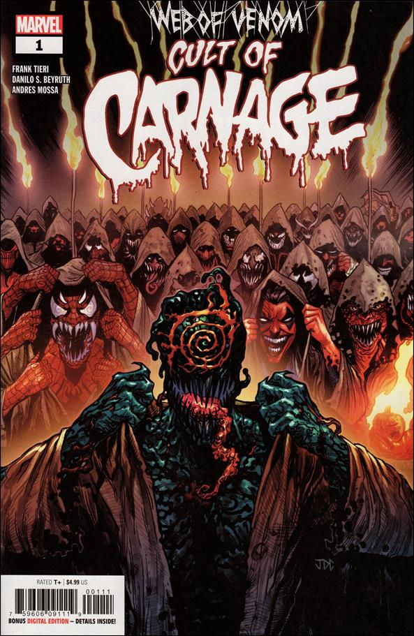 Web of Venom: Cult of Carnage 1-A by Marvel