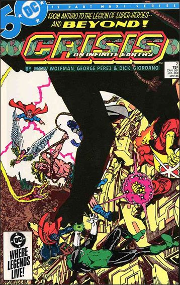 Crisis on Infinite Earths 2-A by DC