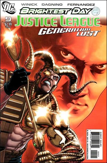 Justice League: Generation Lost 9-B by DC