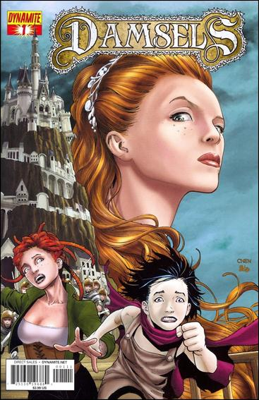 Damsels 1-B by Dynamite Entertainment