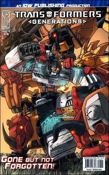 Transformers: Generations 8-A by IDW