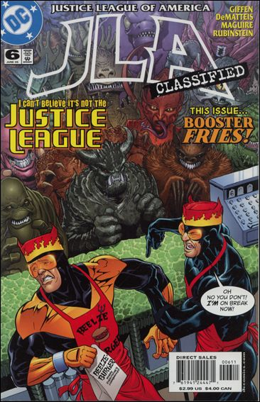JLA: Classified 6-A by DC