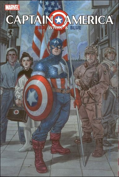 Captain America: Red, White & Blue nn-A by Marvel