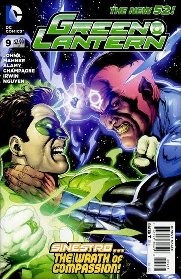Green Lantern (2011) 9-D by DC