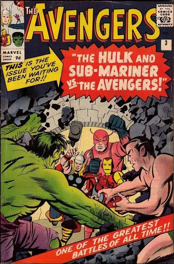 Avengers (1963) 3-B by Marvel