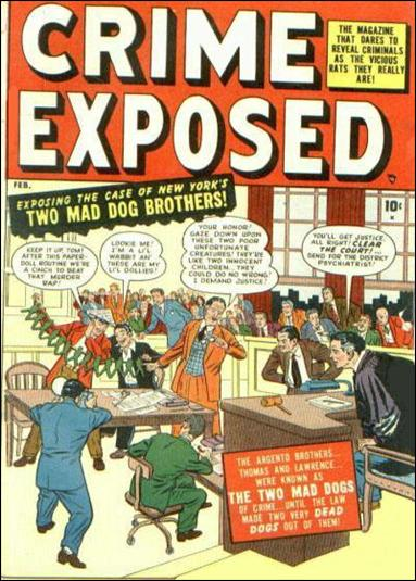 Crime Exposed (1950) 2-A by Marvel