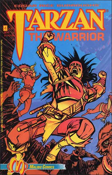 Tarzan the Warrior 4-A by Malibu