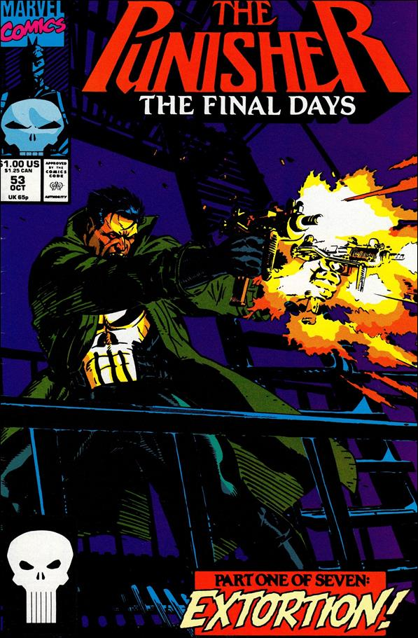 Punisher (1987) 53-A by Marvel