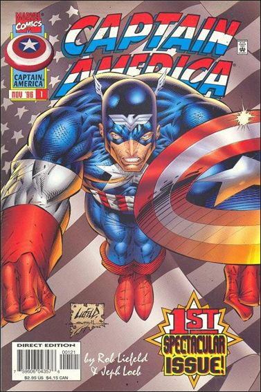 Captain America (1996) 1-B by Marvel