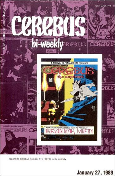 Cerebus Bi-Weekly 5-A by Aardvark-Vanaheim