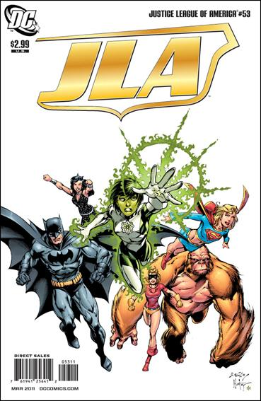 Justice League of America (2006) 53-A by DC