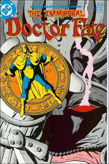 Immortal Doctor Fate 2-A by DC