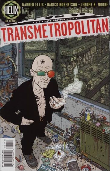 Transmetropolitan 1-A by Vertigo
