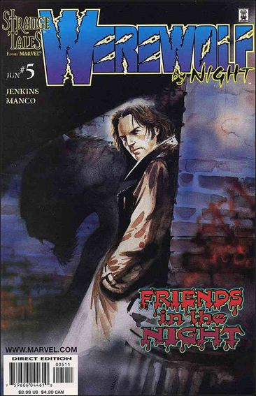 Werewolf by Night (1998) 5-A by Marvel