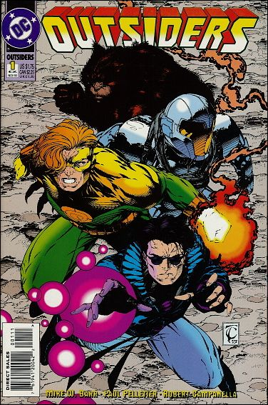 Outsiders (1993) 1-Alpha-A by DC