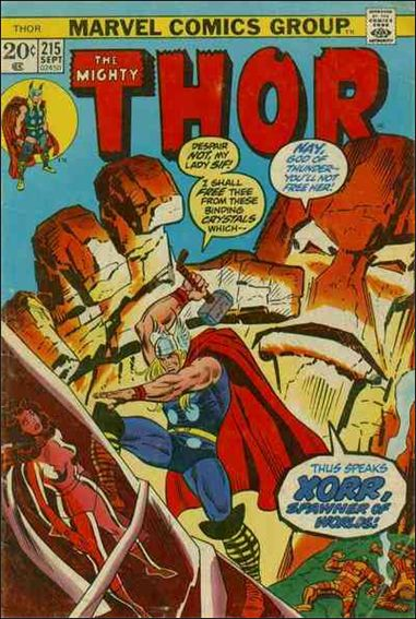 Thor (1966) 215-A by Marvel