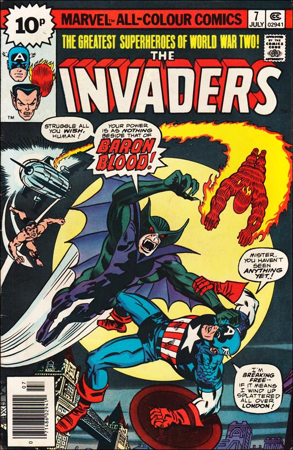 Invaders (1975) 7-C by Marvel