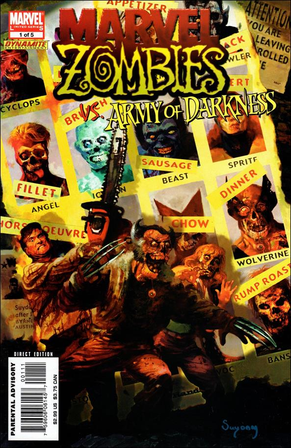Marvel Zombies/Army of Darkness 1-A by Marvel