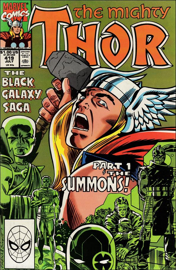 Thor (1966) 419-A by Marvel