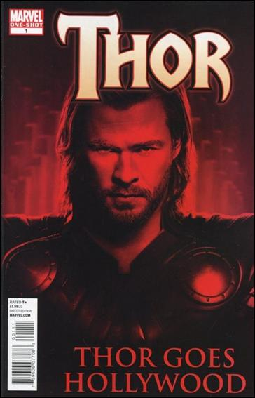 Thor Goes Hollywood 1-A by Marvel