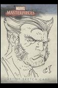 2007 Marvel Masterpieces (Sketch Card Subset) CR-A