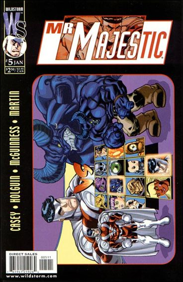 Mr. Majestic 5-A by WildStorm