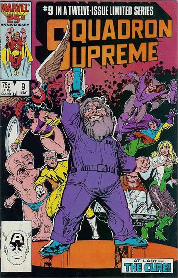 Squadron Supreme (1985) 9-A by Marvel