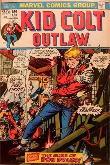 Kid Colt Outlaw  169-A by Marvel