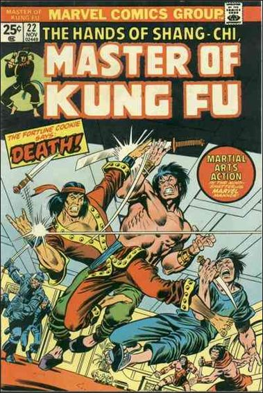 Master of Kung Fu 22-A by Marvel