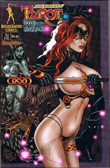 Tarot: Witch of the Black Rose 56-C by BroadSword Comics