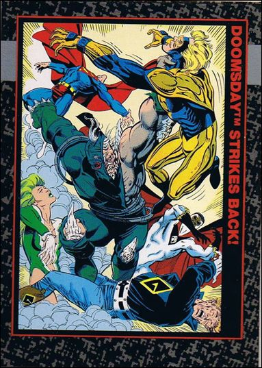 Doomsday: The Death of Superman (Base Set) 21-A by SkyBox