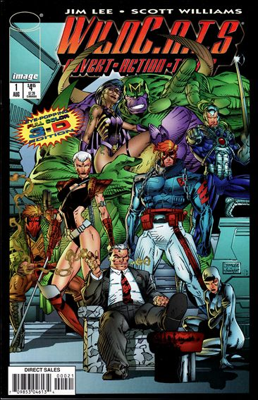 WildC.A.T.s: Covert Action Teams 1-G by Image