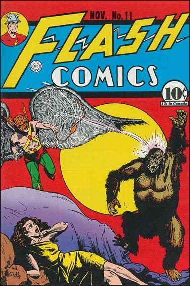 Flash Comics (1939) 11-A by DC