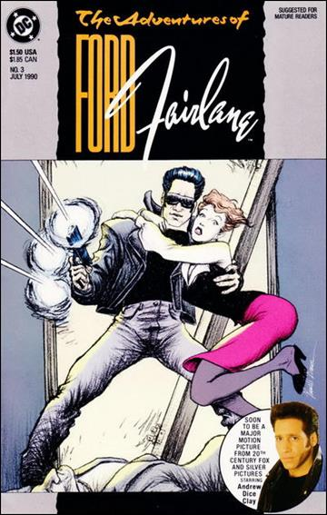 Adventures of Ford Fairlane 3-A by DC